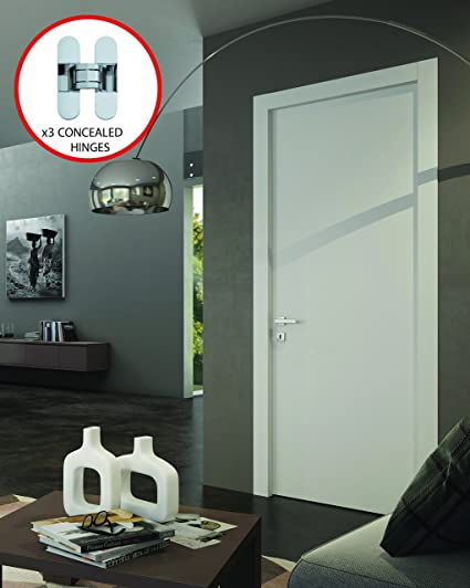 Planum 0010 Modern Wood Solid Flush Regural Interior Door 30x 80