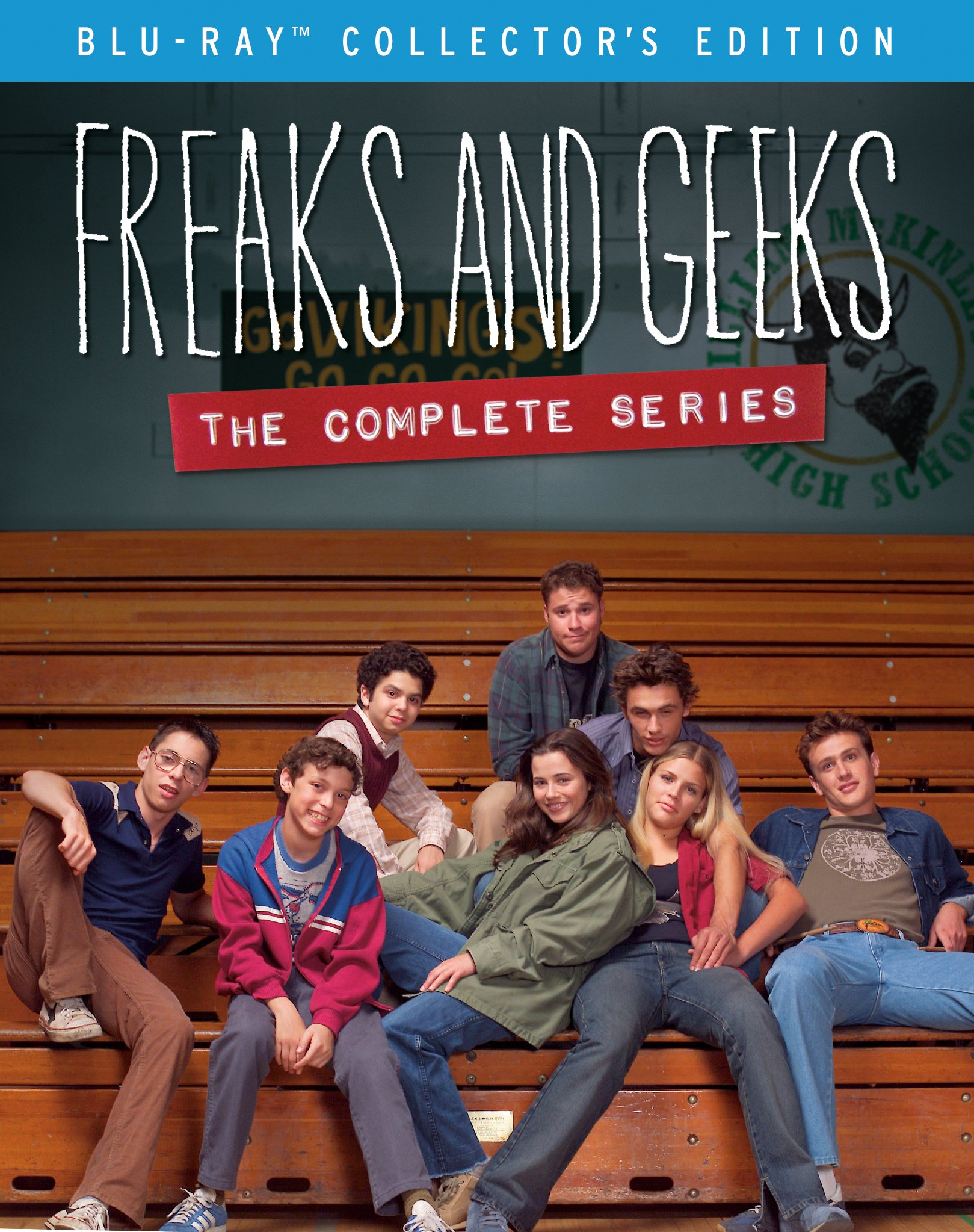 Blu-ray : Freaks And Geeks: The Complete Series (Collector's Edition, Boxed Set, Widescreen, 9PC)