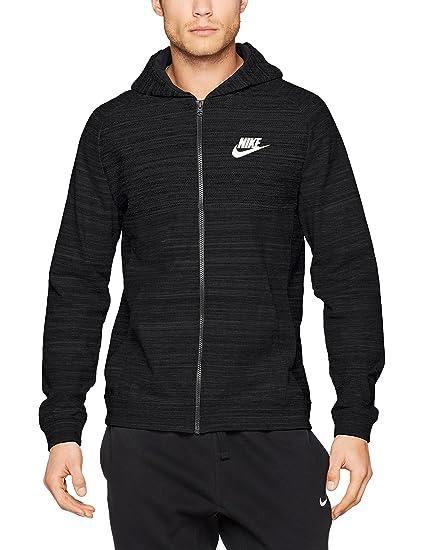 24139fc2272a Nike Sportswear Advance 15 Men s Full-Zip Hoodie at Amazon Men s Clothing  store