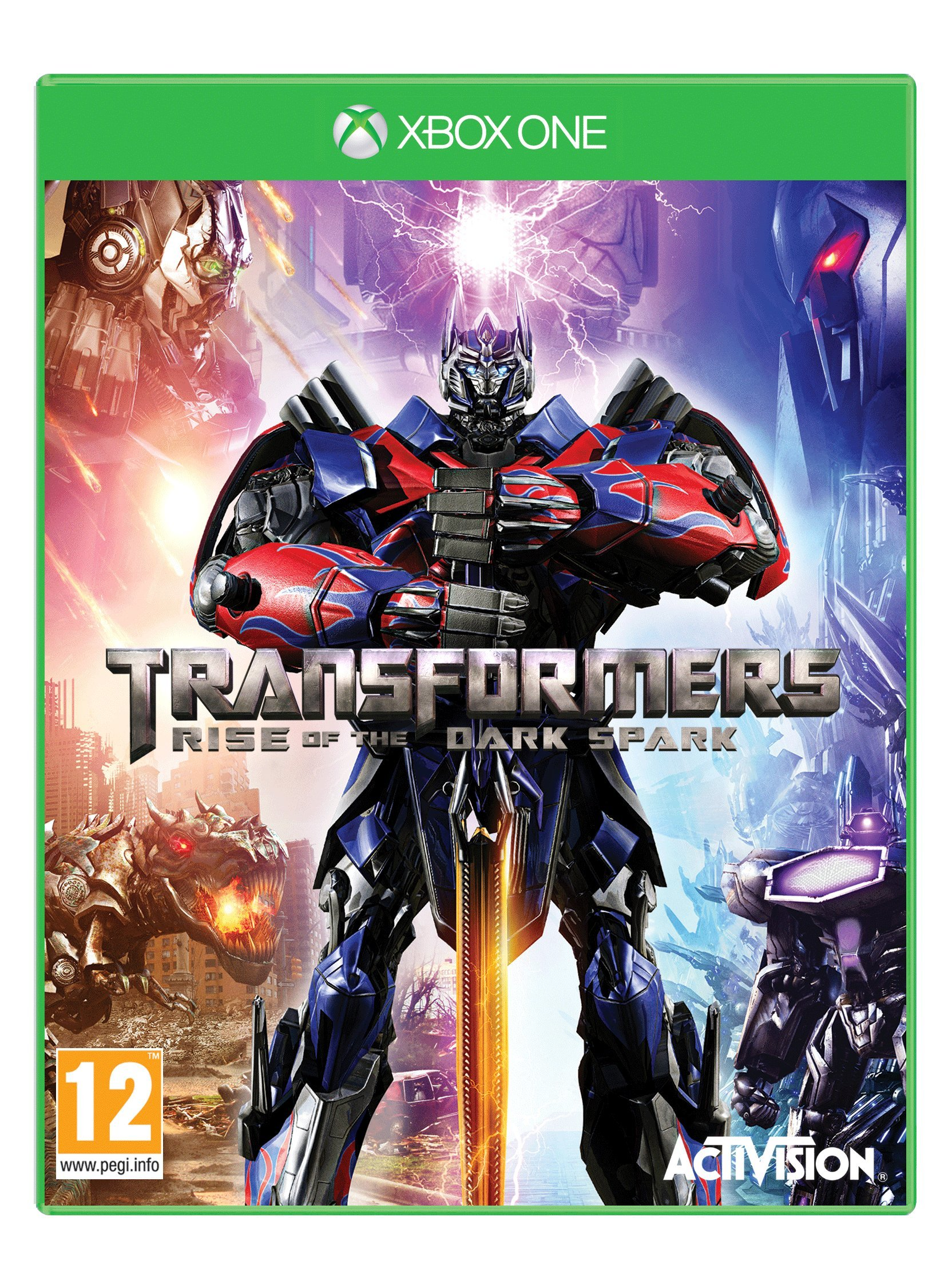 Transformers: Rise of the Dark Spark (Xbox One) by Activision (Image #1)