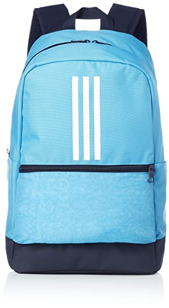 Adidas Unisex Sky Blue Classic 3-Stripes Backpack  Amazon.in  Bags ... 03045983c