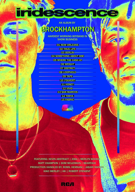Amazon.com: Brockhampton Iridescence Art Print Poster Decor: Handmade
