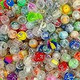 German Trendseller® - 24 x Capsules Surprise Avec jouet à l'intérieur┃ Party Loot ┃ enfants ┃ mélange coloré ┃ Party