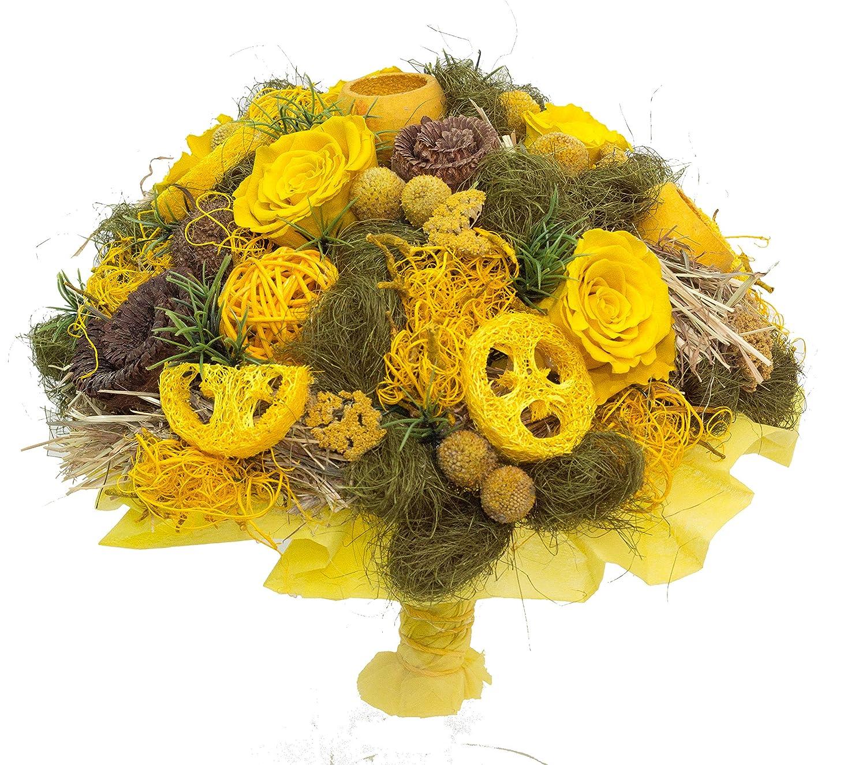 | Blumenstrau/ßdauerhafte Freundschaft Trockenstrau/ß zum GEBURTSTAG 3 EWIGEN ECHTEN ROSEN HANDMADE PERFEKTES GESCHENK FLORISTENMEISTERBETRIEB seit 2012 |
