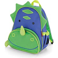 Skip Hop Zoo Toddler Kids Insulated Backpack Dakota Dinosaur Boy 12-inches Green