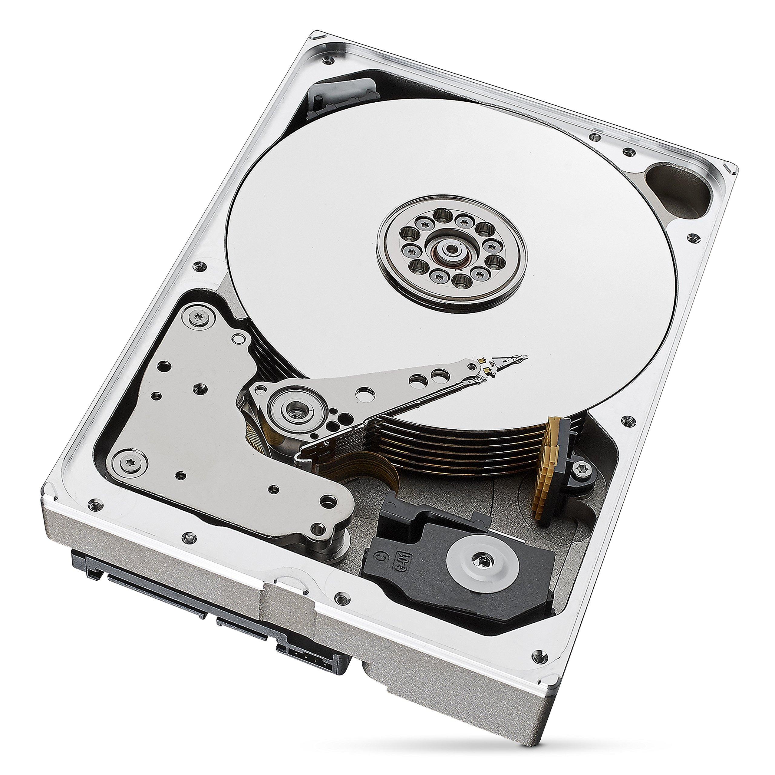 Seagate IronWolf Pro 8 TB NAS RAID Internal Hard Drive - 7,200 RPM SATA 6 Gb/s 3.5-inch (ST8000NE0004) by Seagate (Image #2)