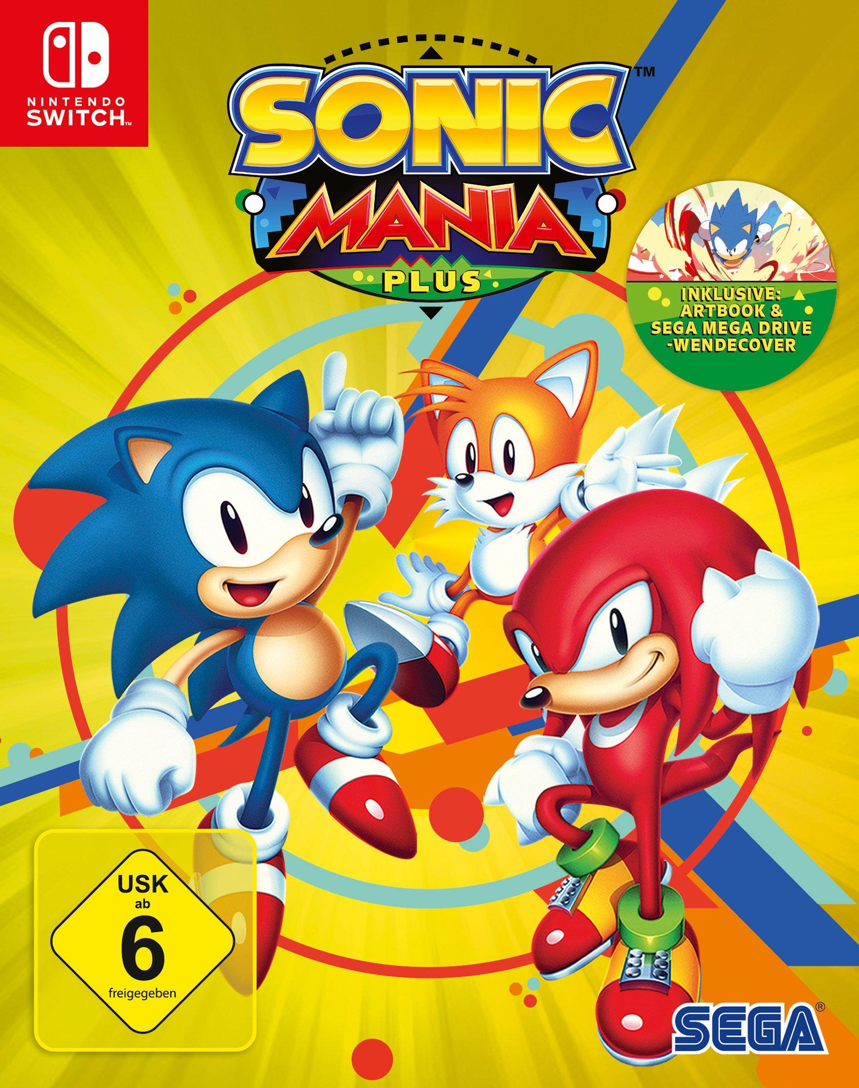 Sonic Mania Plus (Nintendo Switch): Amazon.es: Libros