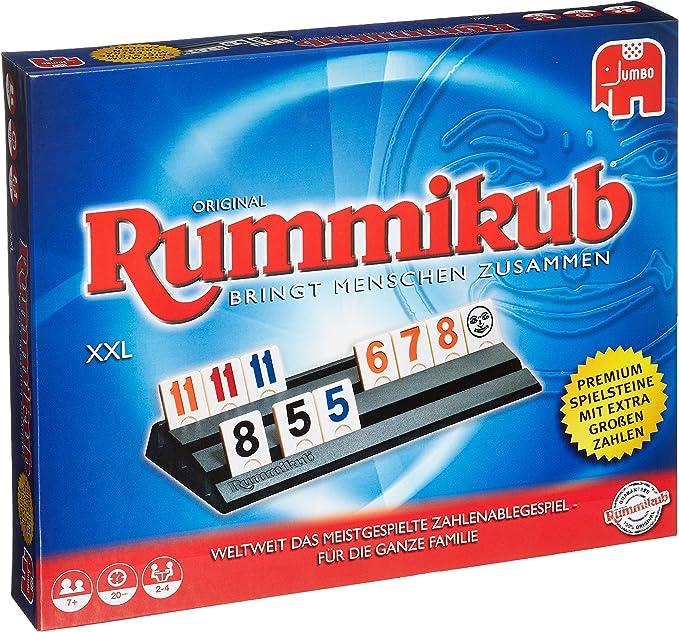 Rummikub Original XXL Niños y Adultos Juego de táctica - Juego de ...