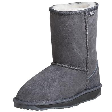 c386c78873a Emu Australia Stinger Lo Boots asutralianas Grey Size: 3.5: Amazon ...