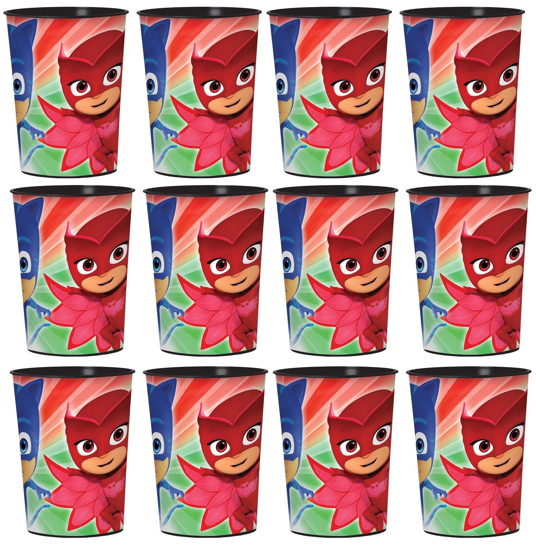 PJ Mask Lot of 12 16oz Party Plastic Cup ~Party Favor Supplies~