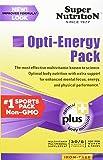 SuperNutrition Opti-energy Pack Iron-Free Multivitamins, 30 Count