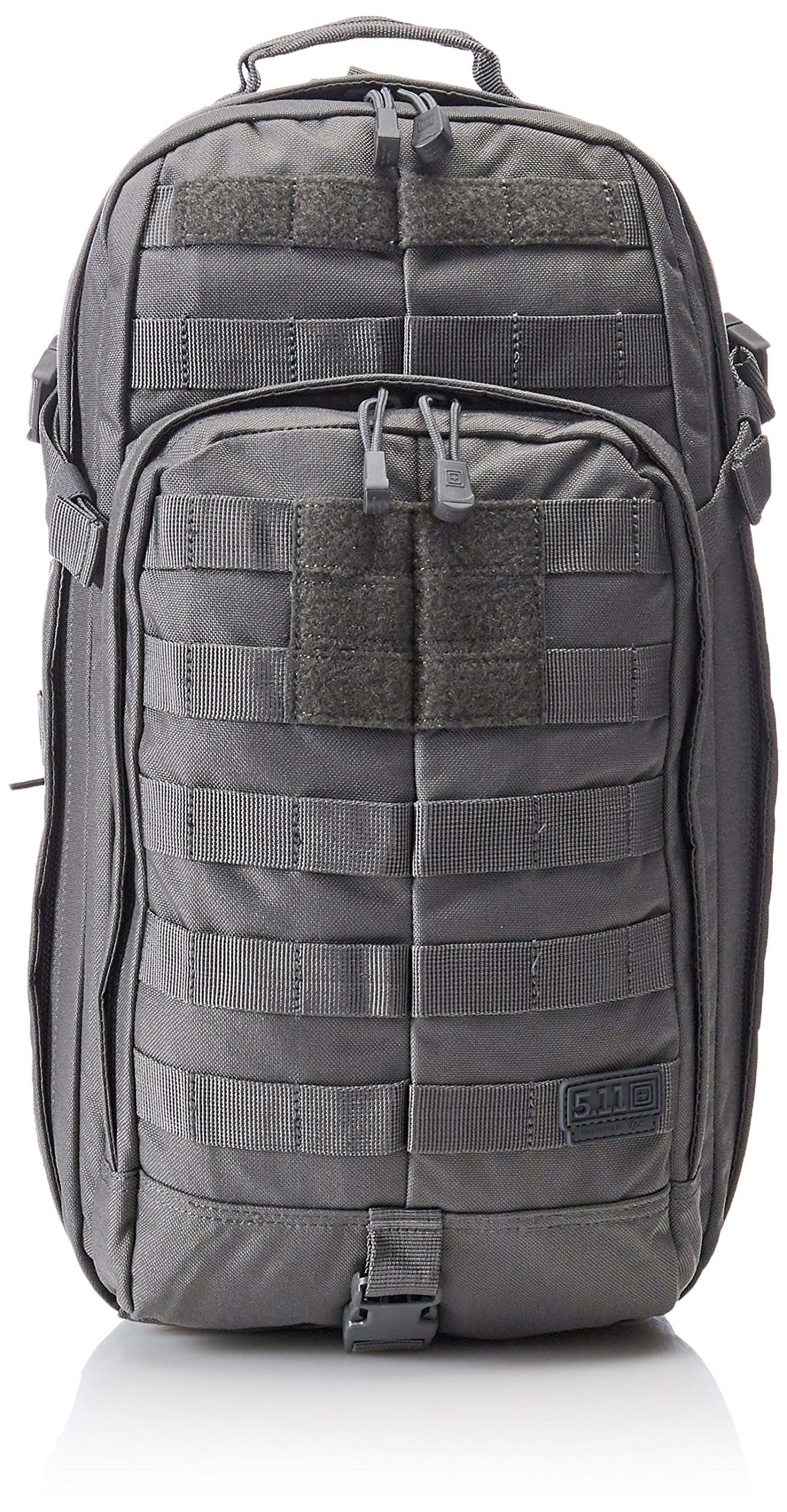 5.11 RUSH MOAB 10 Tactical Sling Bag Shoulder Pack Military Backpack, Style 56964, Storm