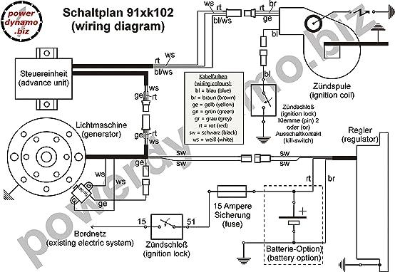 amazon com powerdynamo ignition system stator harley davidson rh amazon com Residential Electrical Wiring Diagrams Light Switch Wiring Diagram