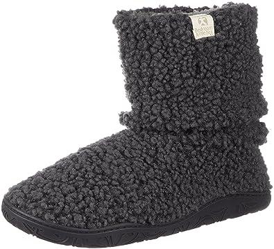 bedroom athletics statham bobble knitted slipper boots amazon co uk rh amazon co uk Ladies Slipper Boots Men's Fleece Lined Slipper Boots