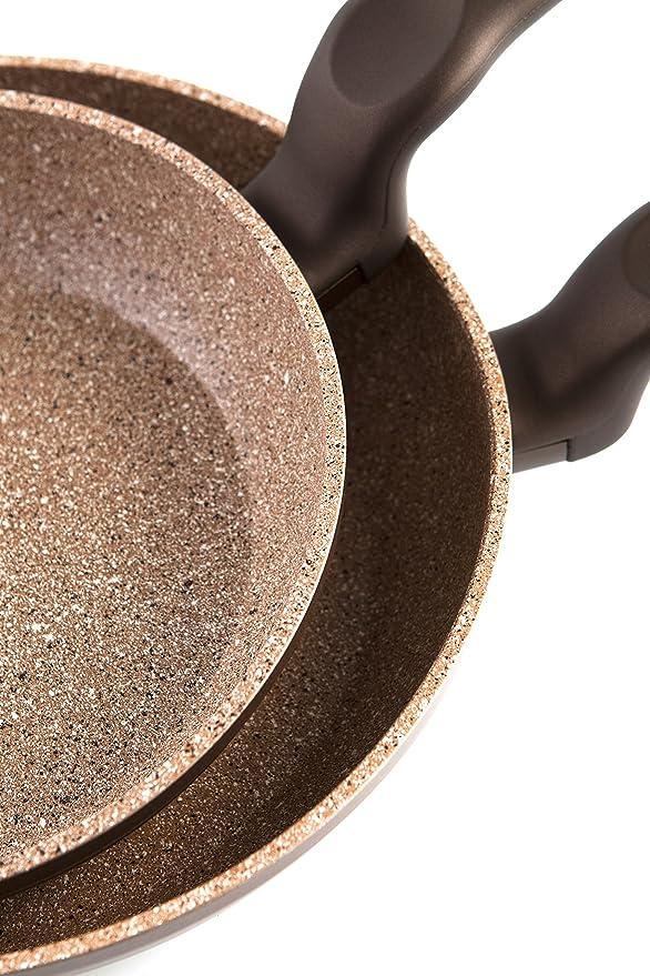 Quid Forja Wave - Sartén de aluminio forjado de inducción, 26 cm: Amazon.es: Hogar