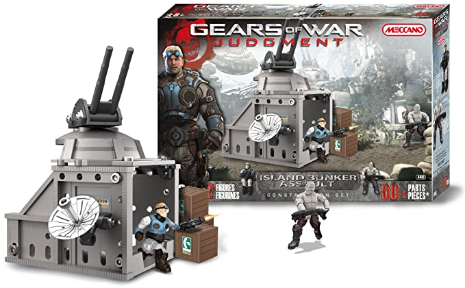 Amazon.com: Meccano - 854451 - Jeu de Construction - Island Bunker Assault: Toys & Games