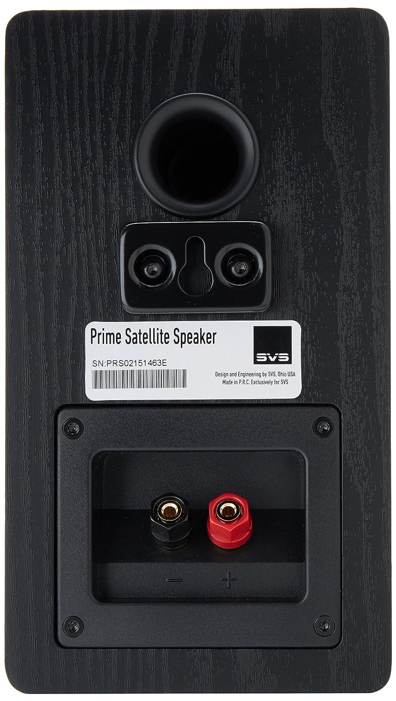 SVS Prime Satellite Speaker (Pair) - Premium Black Ash