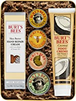 Burt's Bees Classics Gift Set, 6 Products in Giftable Tin – Cuticle Cream, Hand Salve, Lip Balm, Res-Q Ointment, Hand...