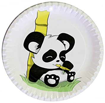 Panda Estable Platos de Fiesta de cumpleaños infantil ...
