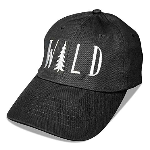 cd34afd5c95 DALIX Hiking Hats Dad Hat Wild Custom Caps Embroidered Cap Black at ...