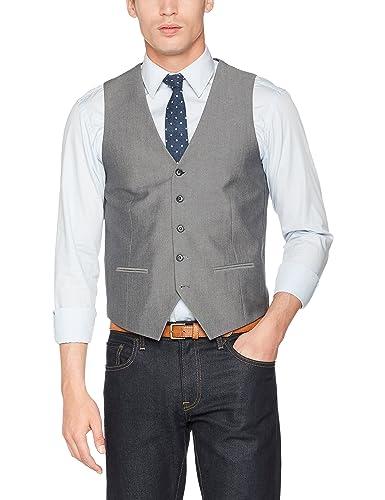 Lindbergh Herren Anzugweste Men's Waistcoat For Suit