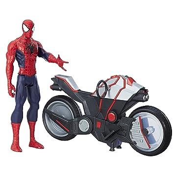 Marvel Figura Vehículohasbro Spiderman SpidermanCon B9767eu4 5R3Ljq4A