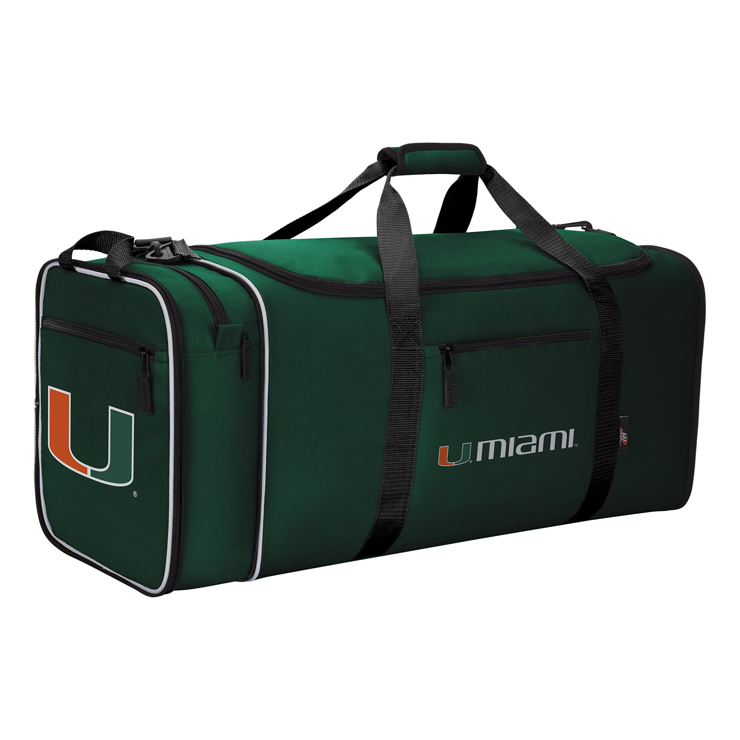 Officially Licensed NCAA Miami Hurricanes Steal Duffel Bag by The Northwest Company (Image #3)