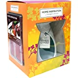 Official Yankee Candle Home Inspiration essenze starter pack Gift set include Cherry Vanilla Wax Cubes & Unscented Tea light