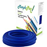 MorphPen ABS Filament 1.75mm Refill for 3D Printing Pen (160ft Blue)