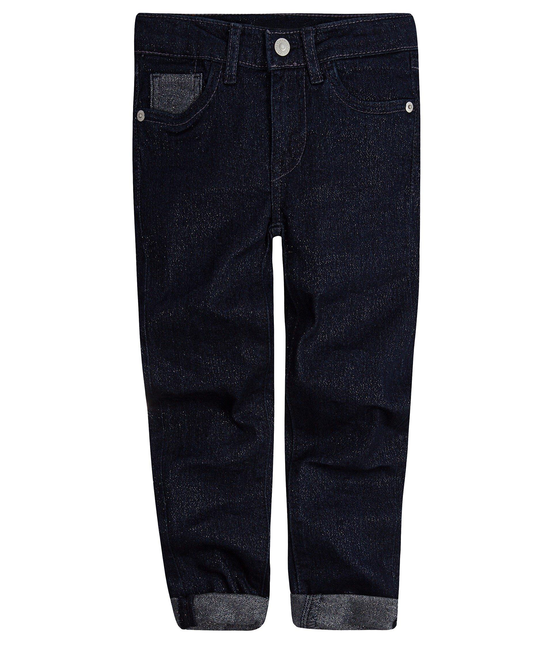 Levi's Kids Girl's 710 Shine Jeans