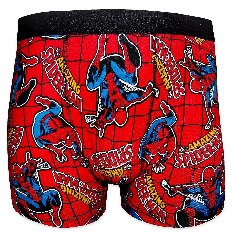 Spiderman Marvel Comics Official Gift 1 Pair Mens Boxer Shorts
