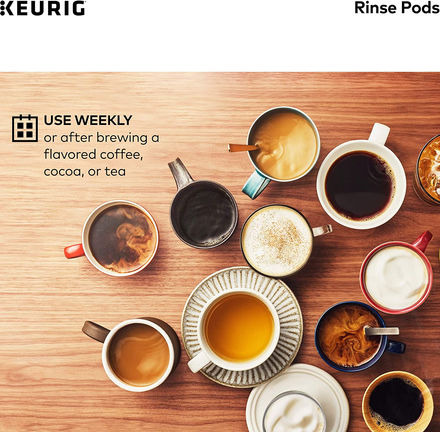 Keurig Pods Reduces Flavor Carry Over, Compatible Classic/1.0 & 2.0 K-Cup Coffee Makers