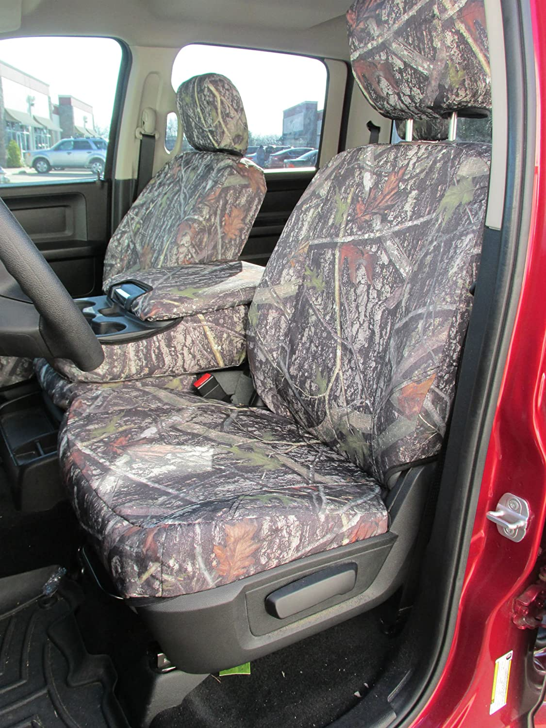Durafit Seat Covers, D1334 NCL C, Seat Covers Dodge Ram Front 40/20/40 Split Bench seat with Opening Center Console with 3 cupholders, 20 Section seat Botton Does NOT Open.