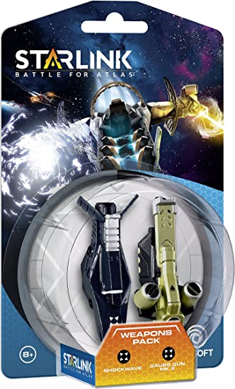 Starlink - Battle For Atlas, Pack Nave Nadir & Pack De Armas Shockwave + Gauss: Amazon.es: Videojuegos