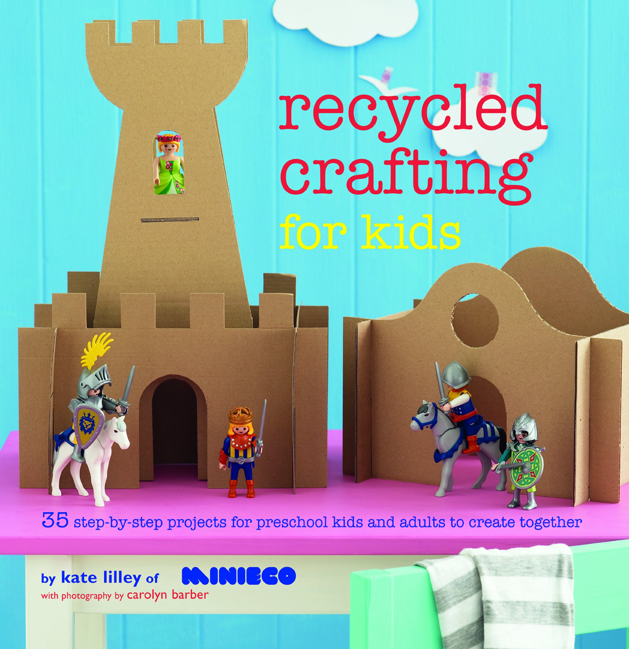 Recycled Crafting For Kids 35 Step By Projects Reschool And Adults To Create Together Amazoncouk Kate Lilley 9781849755290 Books