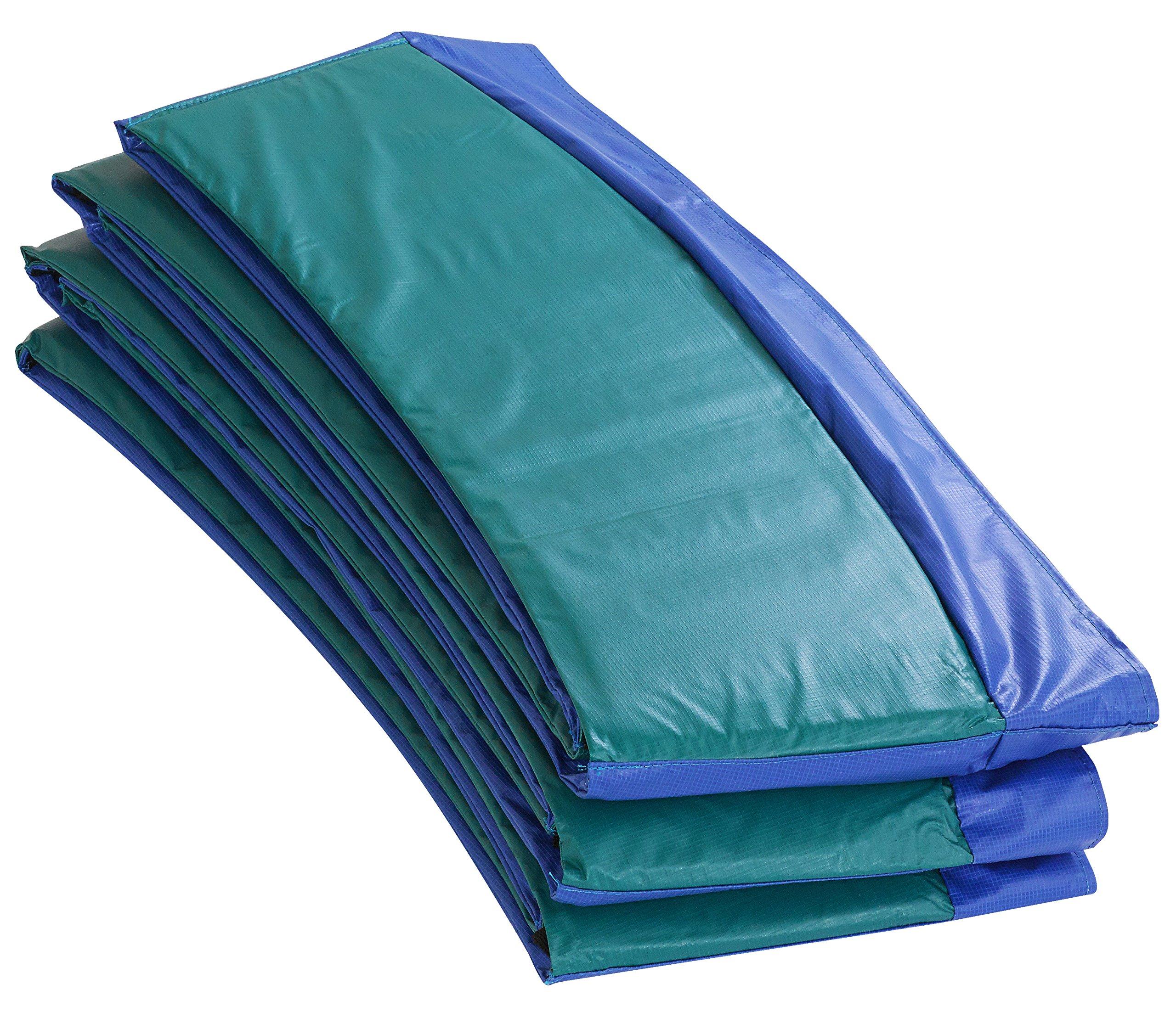 Upper Bounce Super Trampoline Safety Pad, 12-Feet, Blue/Green