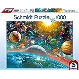 Schmidt 58176 - Puzzle Classique - Espace - 1000 Pièces