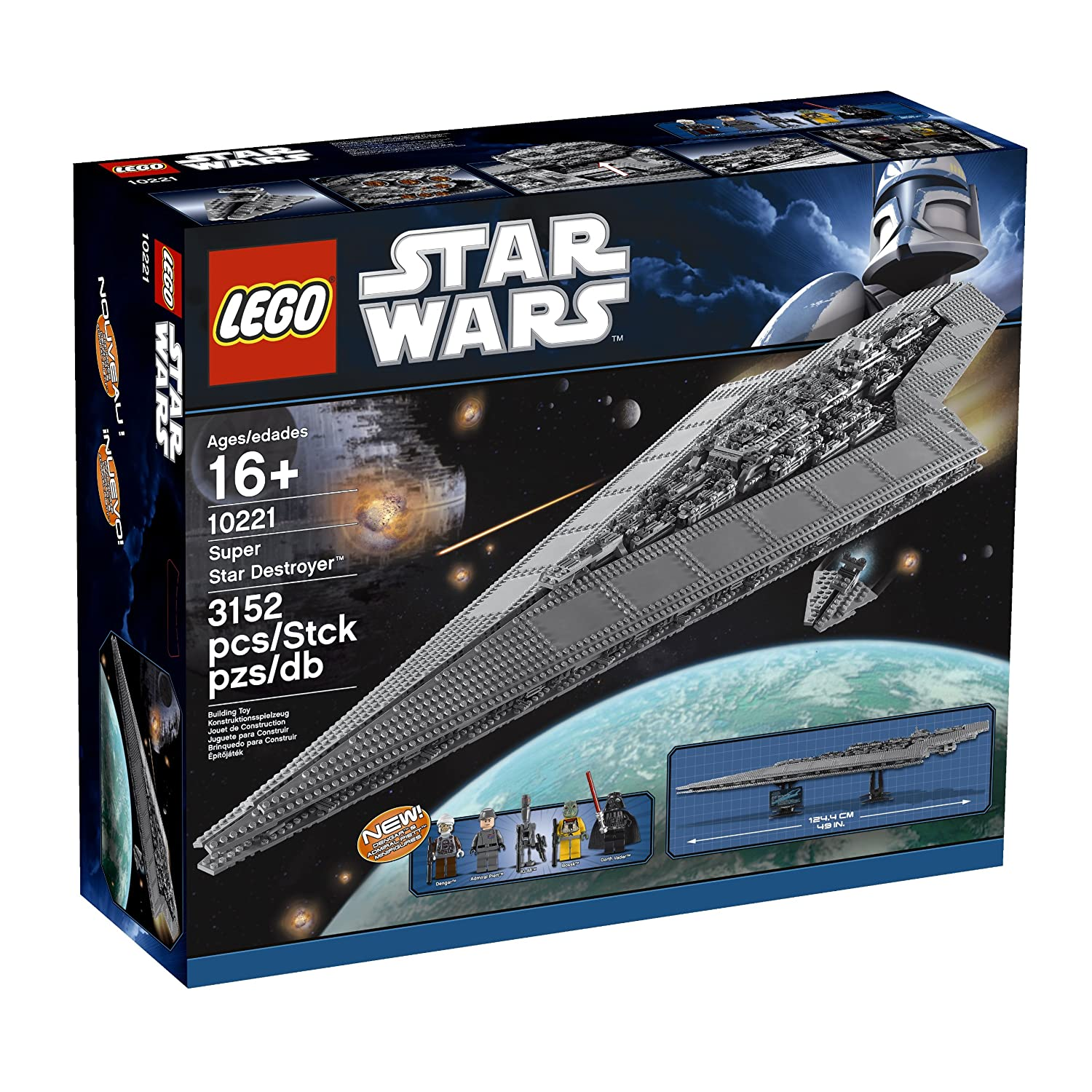LEGO Star Wars - 10221 - Jeu de Construction