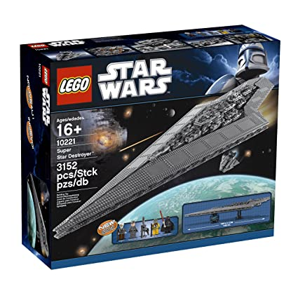01a19a2dedd Amazon.com  LEGO Star Wars Super Star Destroyer 10221 (Discontinued by  manufacturer)  Toys   Games