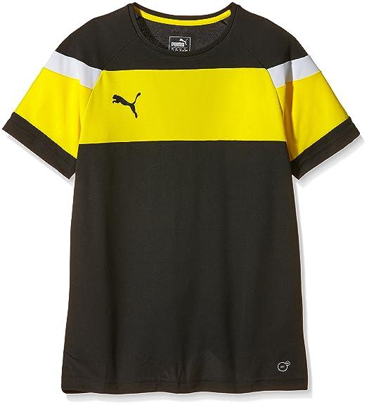 Puma Accuracy Shortsleeved Shirt (cyber yellow black