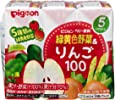 ピジョン 緑黄色野菜&りんご100 (125ml×3コパック)×4個