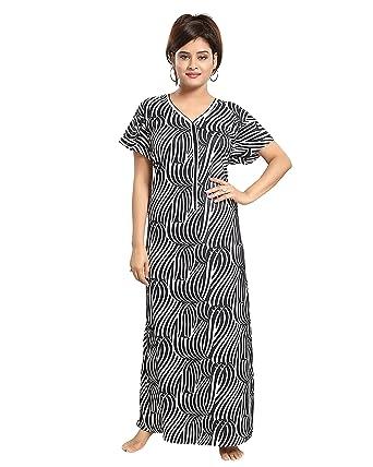 TUCUTE Women s Cotton Nightwear (Tiger Print a248cf2b8