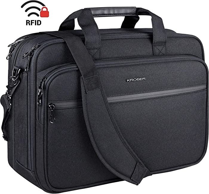 Top 8 18 Inch Laptop Briefcase Black