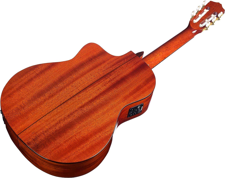 Cordoba Guitars Withouth Gig Bag - Guitarra Electroacústica (cedro), Color Marrón: Amazon.es: Instrumentos musicales
