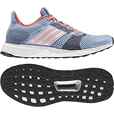 new arrival 12a29 3a2c9 adidas Womenss Ultra Boost St W Running Shoes Amazon.co.uk Shoes  Bags