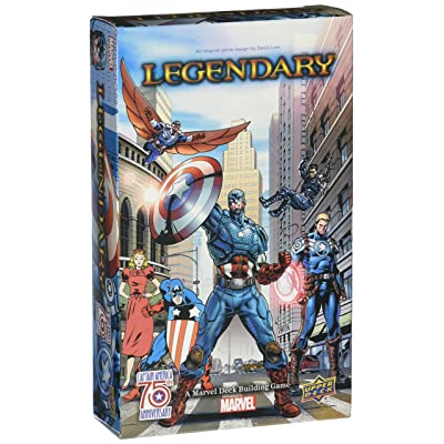Legendary: A Deck Building Game: Captain America 75th Anniversary: Toys & Games