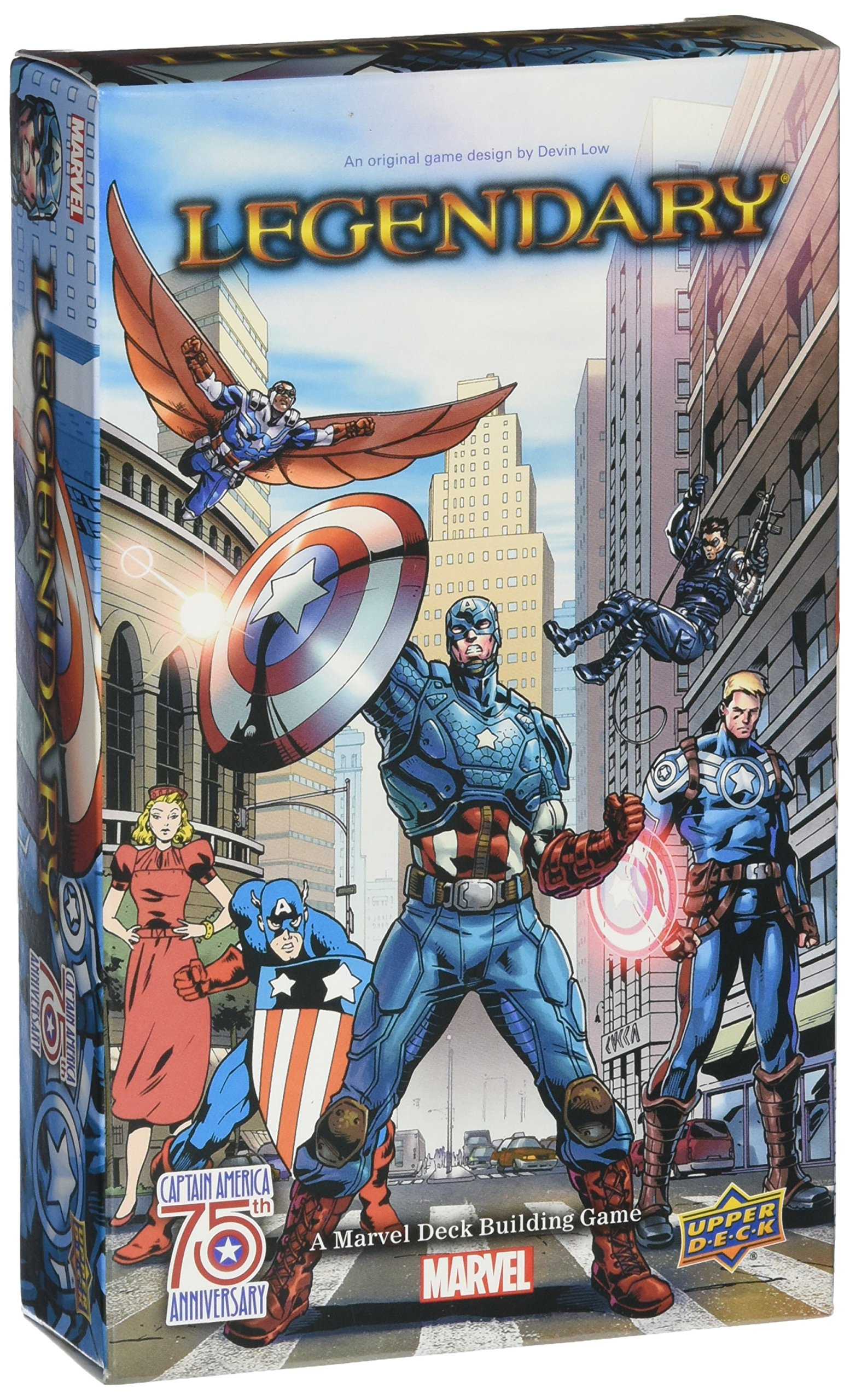 Marvel Legendary: A Deck Building Game: Captain America 75th Anniversary