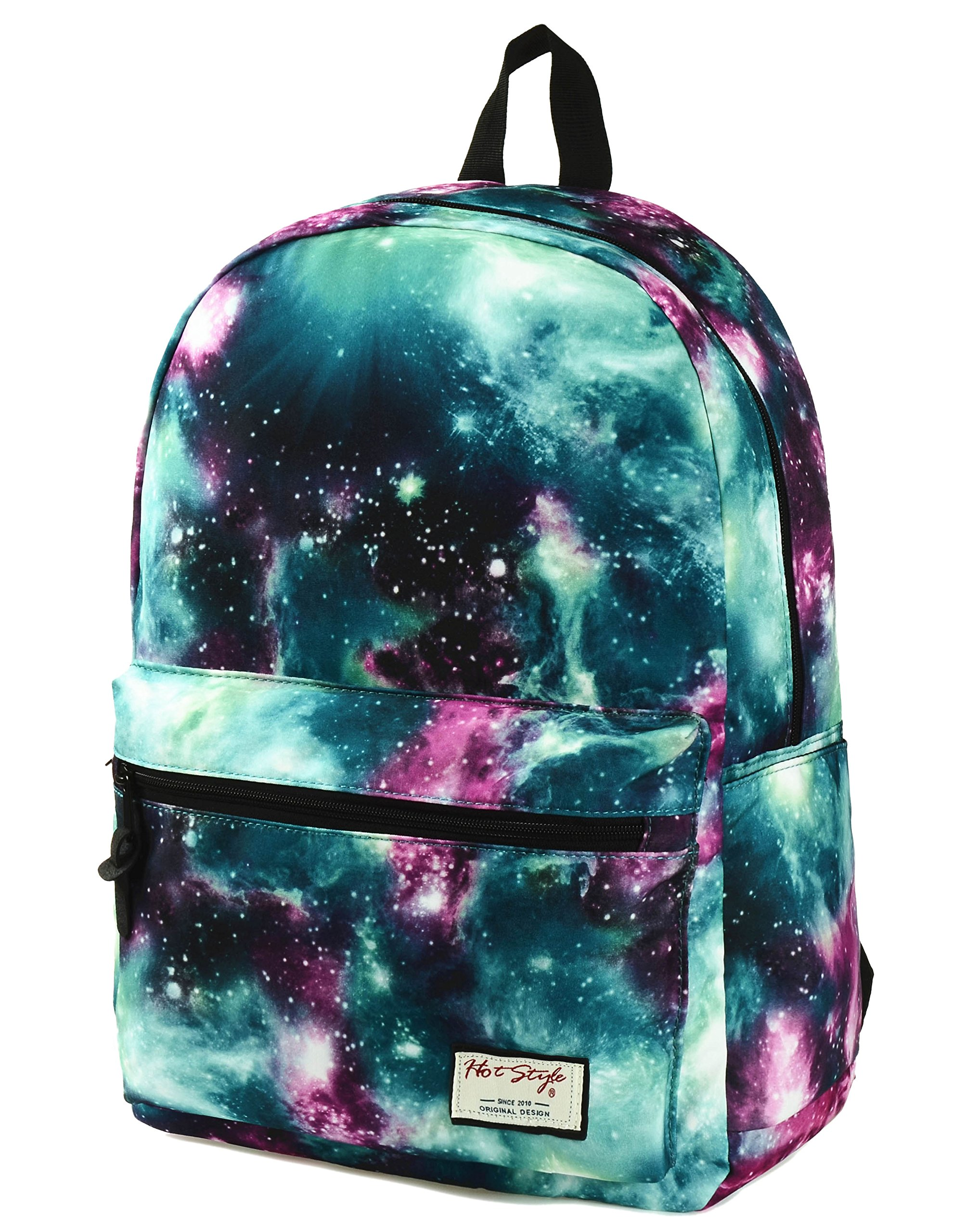 "TRENDYMAX Galaxy Backpack Cute for School | 16""x12""x6"" 