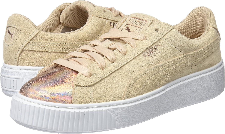 PUMA Suede Platform Lunalux, Sneakers Basses Femme