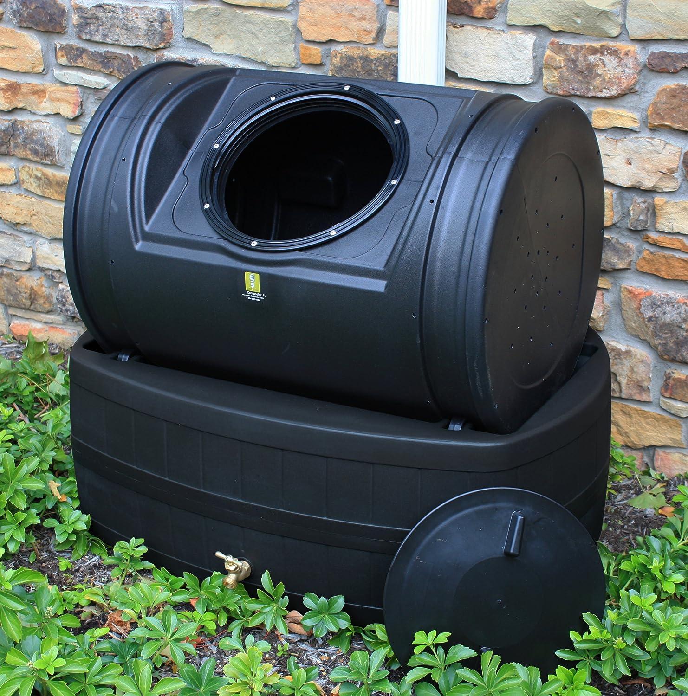 Amazon.com: good Ideas barril de lluvia y Compost Asistente ...